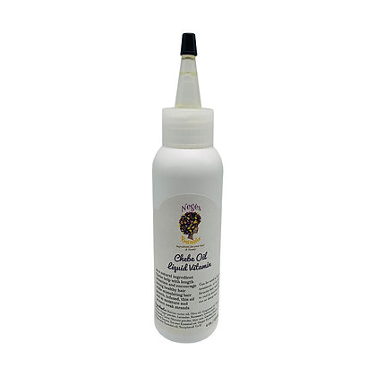 Chebe oil liquid vitamin only in  4 oz size now