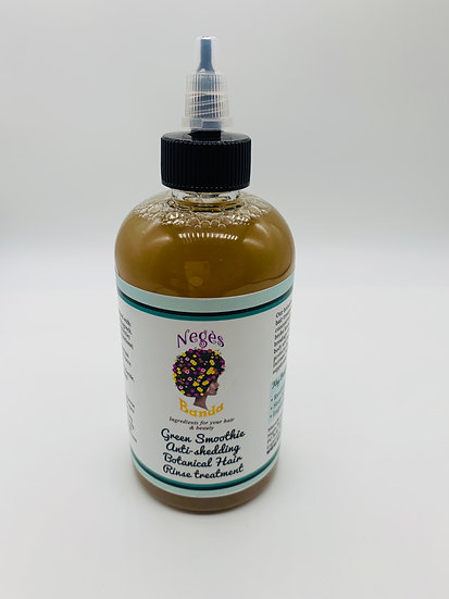 Green Smoothie Anti-shedding hair rinse 12oz (Ambanu+Green tea+Aloe+Oat Straw)