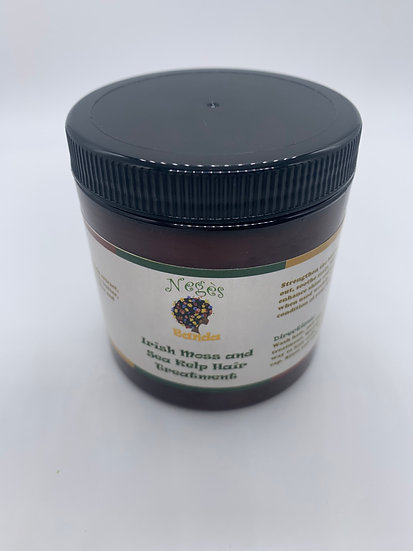 Irish moss and Sea Kelp Hair Treatment 8oz