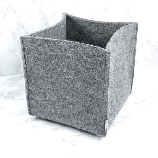 Mand SQUARE in grijs voor
