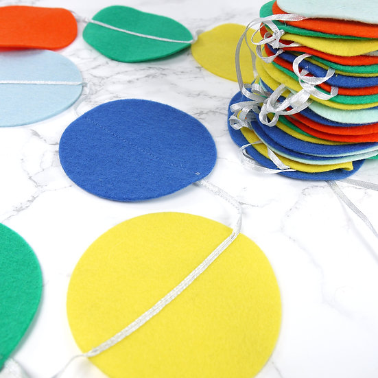 Slinger PARTY in felle kleuren