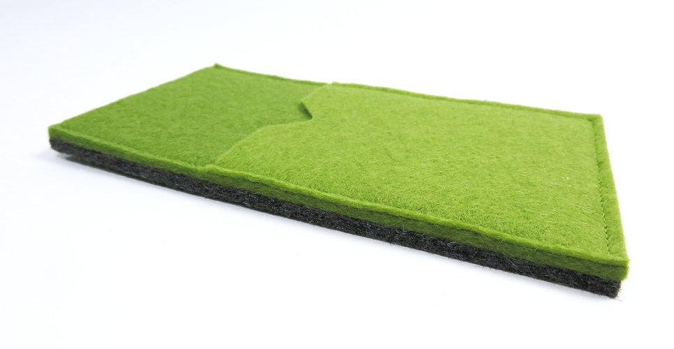 Telefoonhoesje POCKET groen grijs