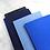 Sleeve BASIC medium in blauw