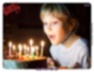 מסגרת מגנט יום הולדת