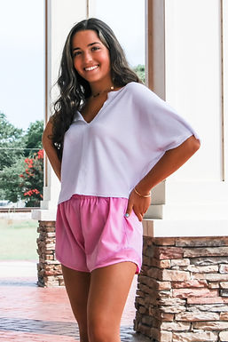 The Sport Shorts In Pink
