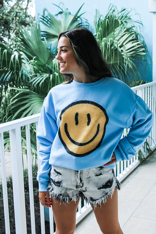 The Isabella Collection - Be Happy Sweatshirt