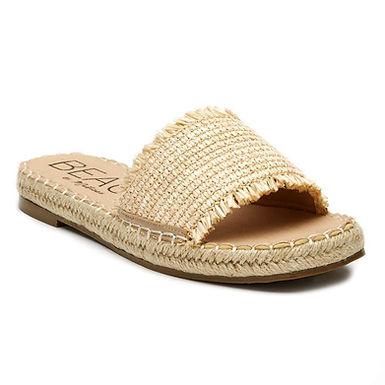 Koko Slide Sandal In Natural - Matisse