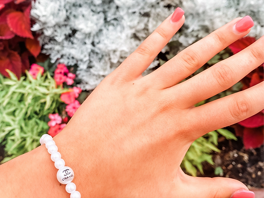 The Isabella Collection - CC White Bracelet