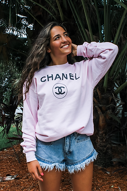 The Isabella Collection - Pink CC Sweatshirt