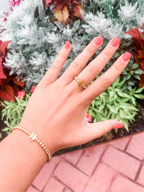 The Isabella Collection - Gold CC Bracelet