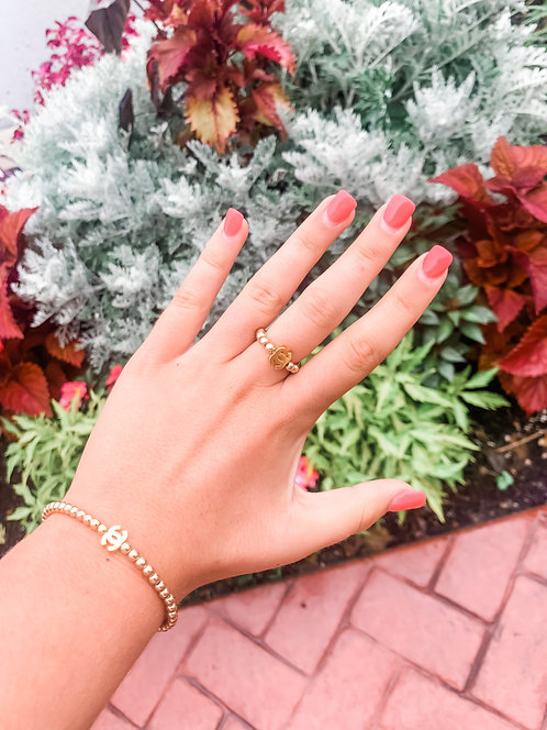 The Isabella Collection - Gold CC Ring