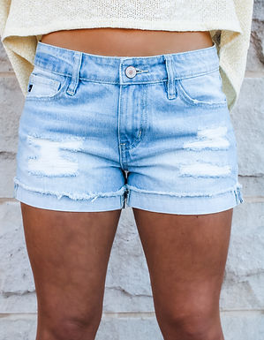 The Sarah Denim Shorts