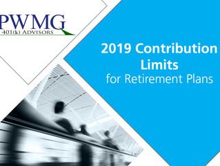 2019 Contribution Limits
