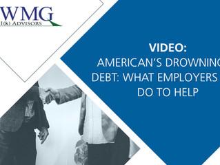American's Drowning in Debt