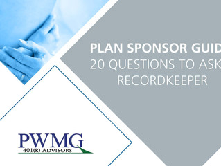 [Plan Sponsor Guide] 20 Questions to Ask a Recordkeeper