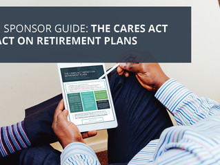 Infographic: The CARES Act and its Impact on Retirement Plans