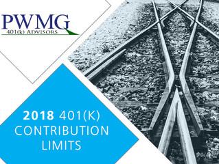 2018 Contribution Limits
