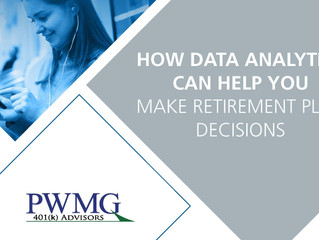 How Data Analytics Can Help You Make Retirement Plan Decisions