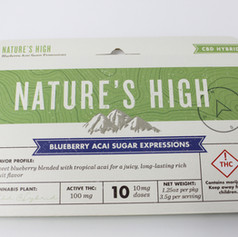 Blueberry Acai Sugar Expressions