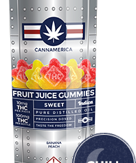 Cannamerica Sweet Indica Gummies