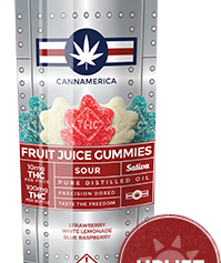 Cannamerica Sour Sativa Gummies
