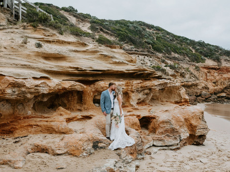 Sarah & Mitch's Sorrento Beach Elopement