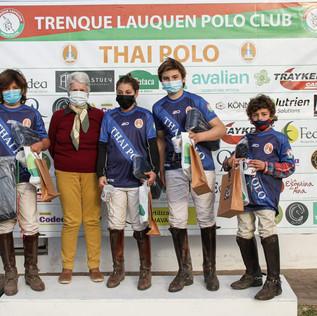 Finalizó la Copa Quico Zubia Thai Polo 2021 en Trenque Lauquen