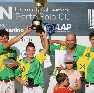 El 3° Open Internacional Berta Polo CC en Río Cuarto fue todo un éxito