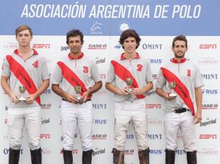 Campeones Copas AAP: Pizarro 2021; TTE. GRL. B. Mitre 2021 y Torneo Sub 18 -Otoño 2021