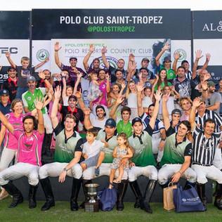 Los ganadores del Open de Gassin en St. Tropez