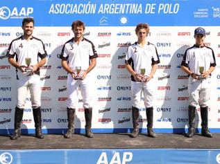 Campeones Copas AAP: Oro y Plata; Beguerie - Láinez; Ceibo - Jacarandá; Comienzo 2021 y Liga Amateur