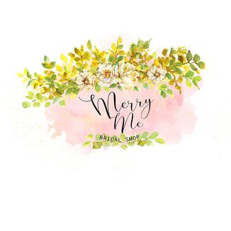 Merry Me White Roses-Premade Logo-700.jp