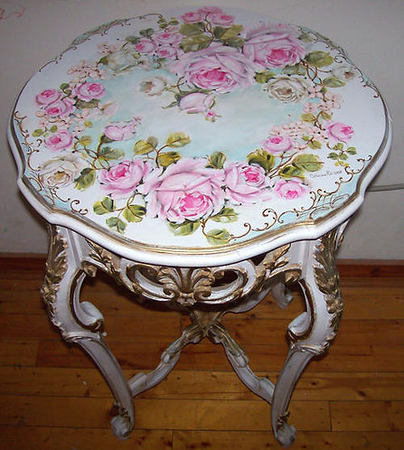 Gorgeous Antique French Side Table