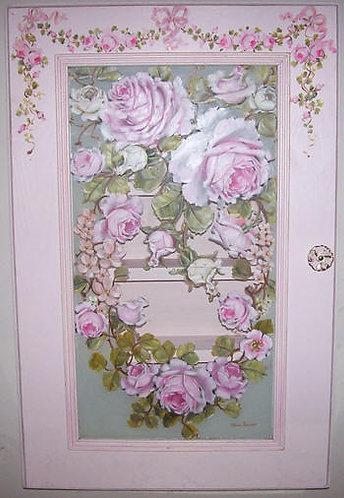 Gorgeous Romantic Pink Medicine Cabinet