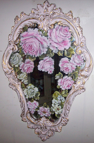 Antique French Ornate Mirror