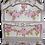 Thumbnail: Antique Fancy Blush Pink Display Wall Shelf
