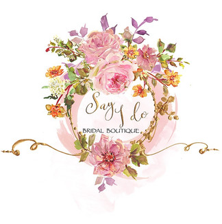 Say I do- Premade Logo