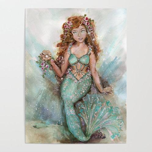 Hidden Treasure Mermaid Siren