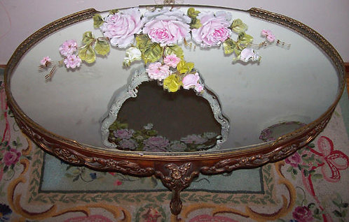 Gorgeous Antique French Coffee Table
