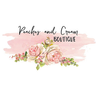 Peaches and Cream -Premade LOGO