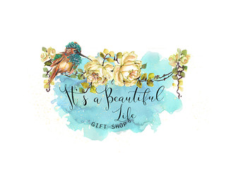 It is a Beautiful Life Roses Swag-Premad