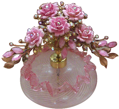 Venetian Glass Perfume Bottle