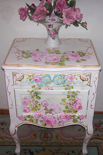 Vintage French Night Table