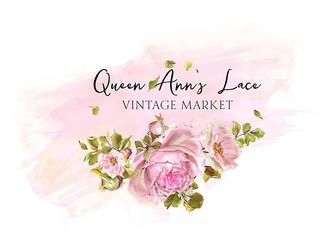 Queen Anns Lace Vintage Market-Premade L