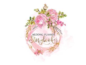 Storybook Wedding Premade Logo