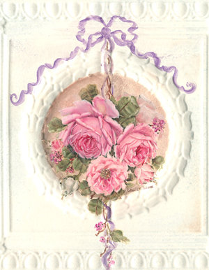 Romantic Roses Garland Left