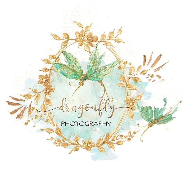 Dragonfly Elegance-CatRisi Premade Logo