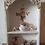 Thumbnail: Beautiful Display Wall Display Shelf Cabinet White Roses