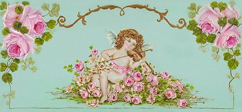 Divine Romance Cherubs and Roses