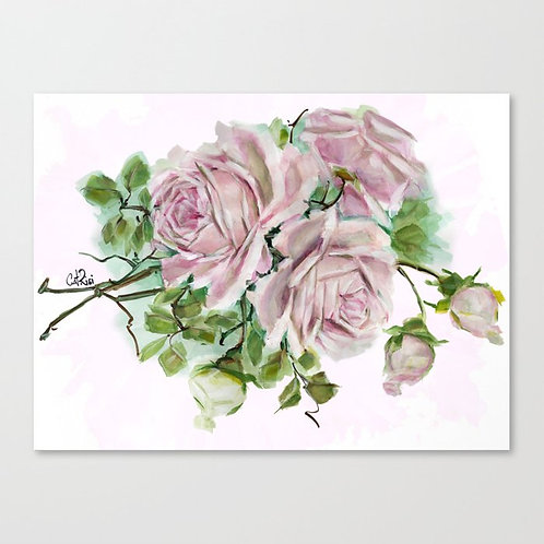 Serenity Pink Rose Bouquet